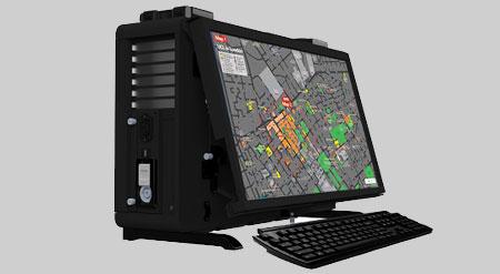 MaxPac8261XL1 MaxVision Rugged Portable Computer