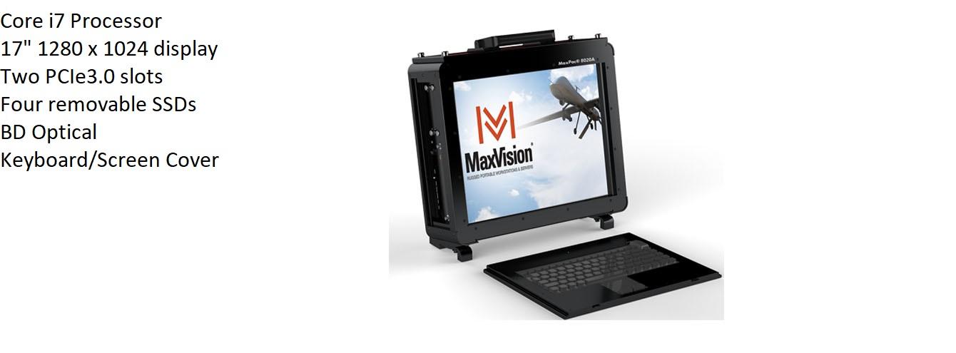 MaxPac A Family MaxVision Rugged Portable Computer