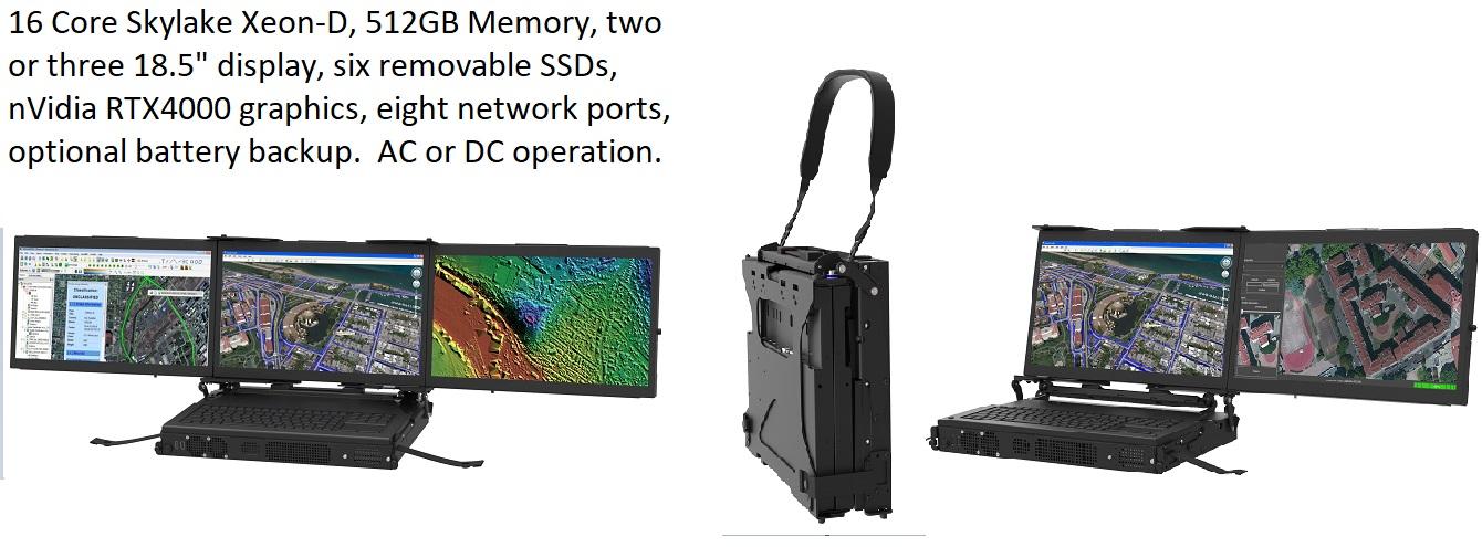 MiniPac CP Family MaxVision Rugged Portable Computer