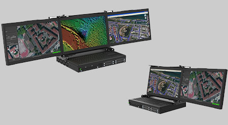 MiniPac8071CP2/CP3 MaxVision Rugged Portable Computer