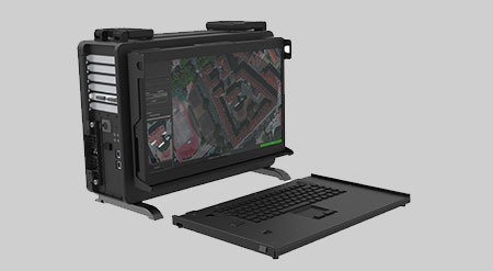 MaxPac8012ML1 MaxVision Rugged Portable Computer