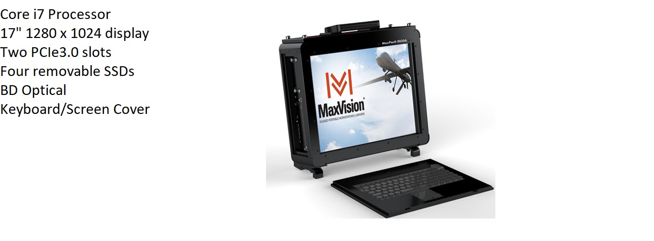 MaxPac A Family MaxVision Rugged Portable Computer